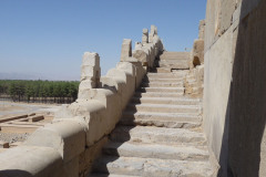 Persepolis - Xerxes Palace - Backstairs