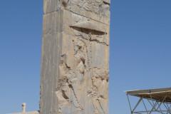 Persepolis - Xerxes Palace - Relief King Xerxes