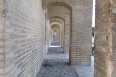 Pol-e Khaju - Side Passage