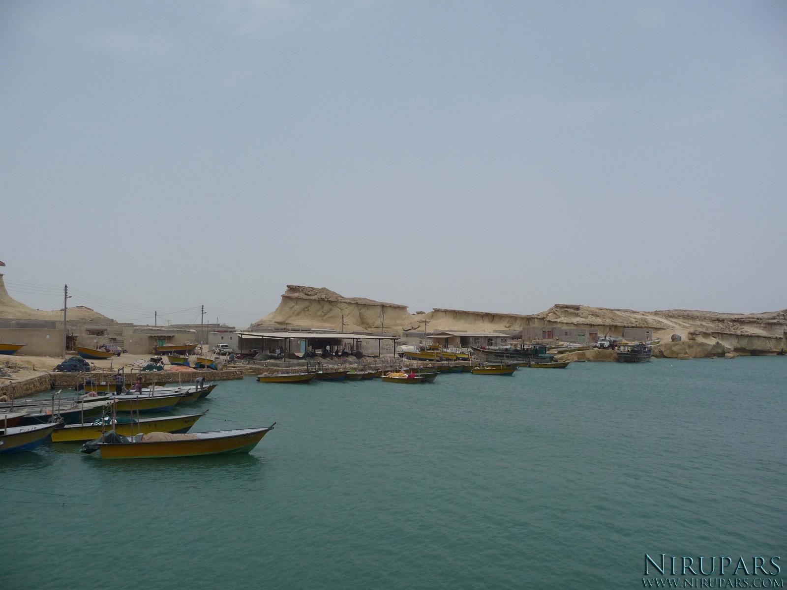 Qeshm Island - Fisherman Harbour