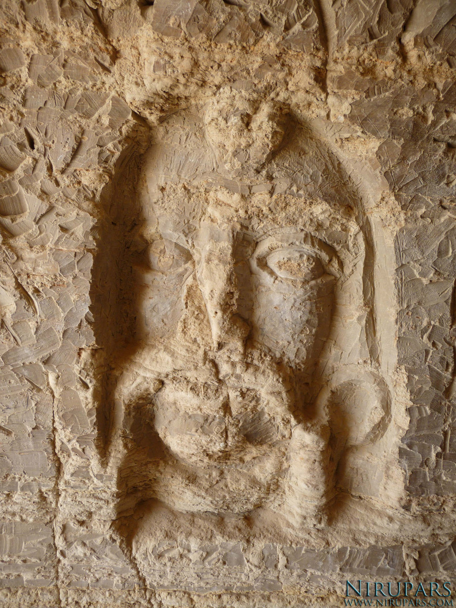 Qeshm Island - Khorbes Caves - Relief Face