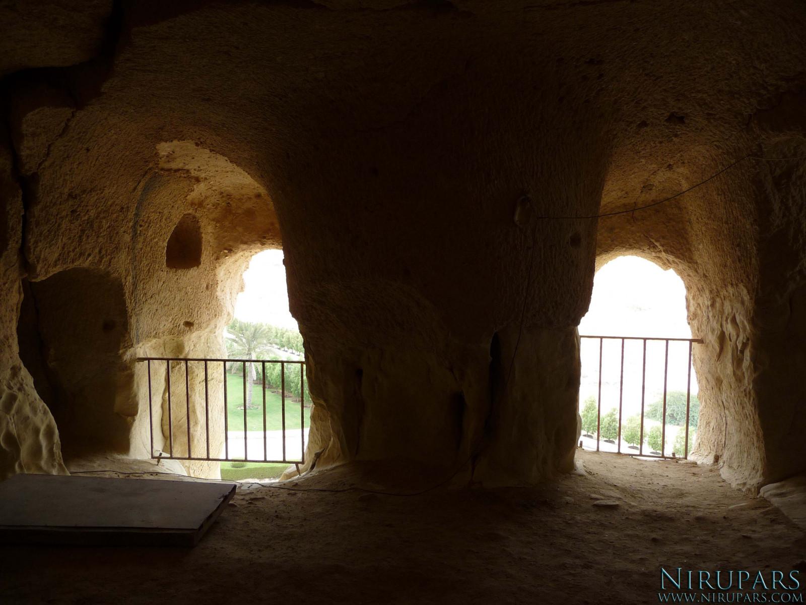 Qeshm Island - Khorbes Caves - Room