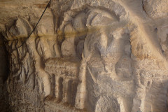 Qeshm Island - Khorbes Caves - Reliefs