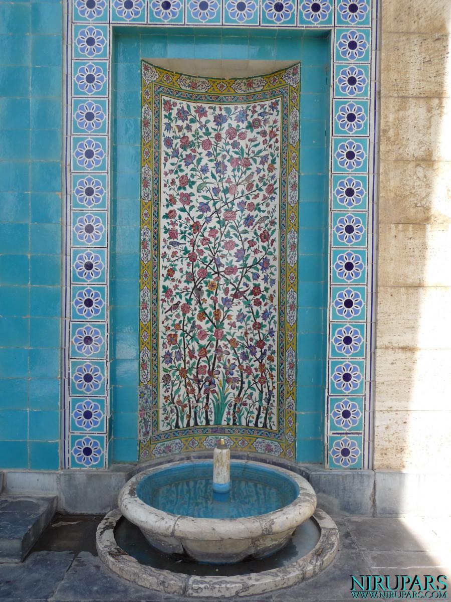 Saadieh - Mausoleum fountain