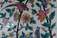 Saadieh - Mausoleum - Painted tiles
