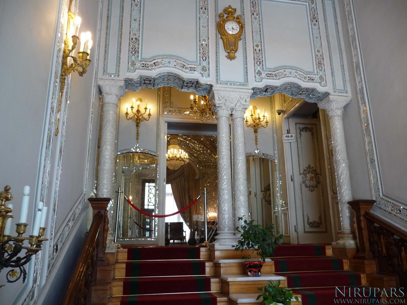 Sadabad Palace Complex - Green Palace - Audience Hall - Entrance