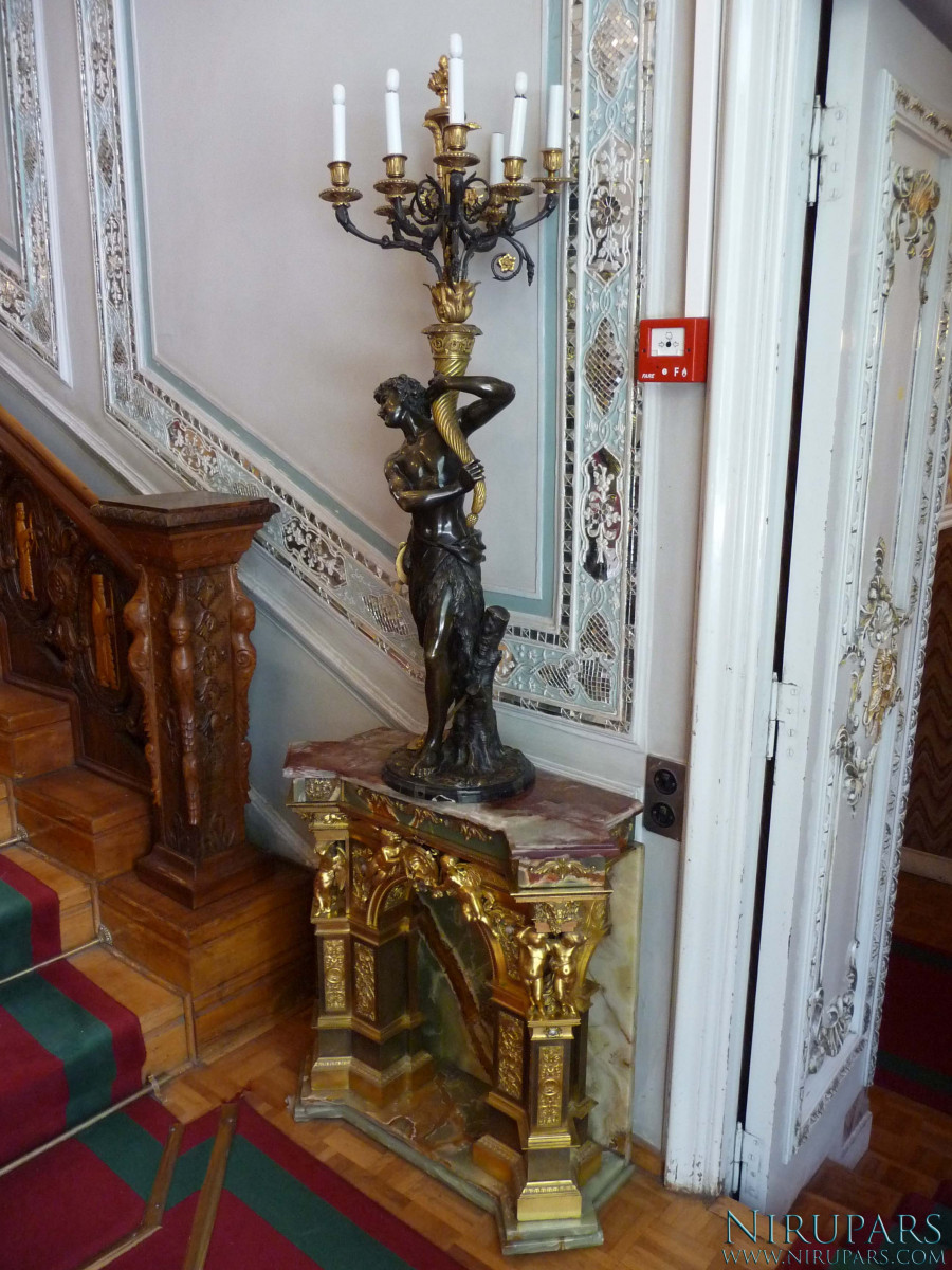 Sadabad Palace Complex - Green Palace - Small Table