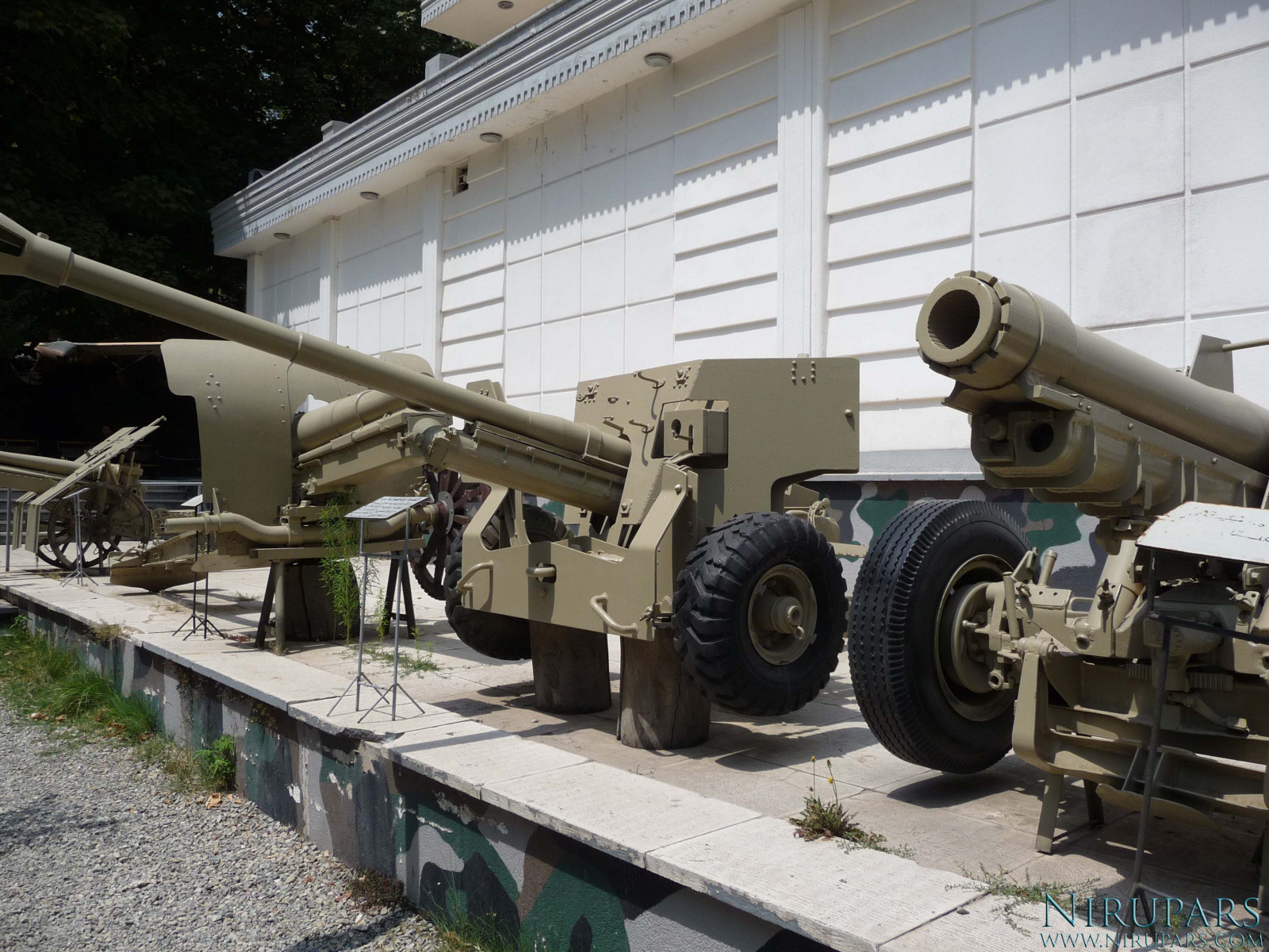 Sadabad Palace Complex - Military Museum - Howitzer