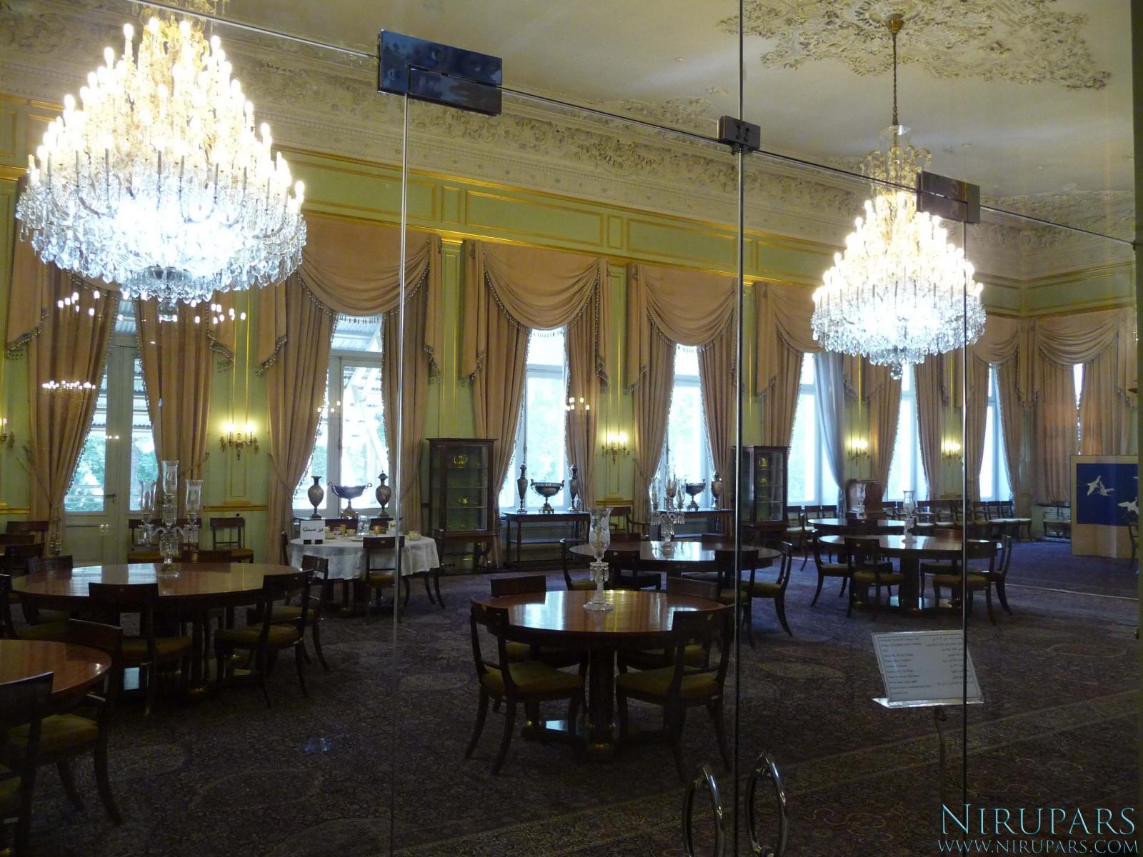 Sadabad Palace Complex - White Palace - Upper Floor - Dining Room
