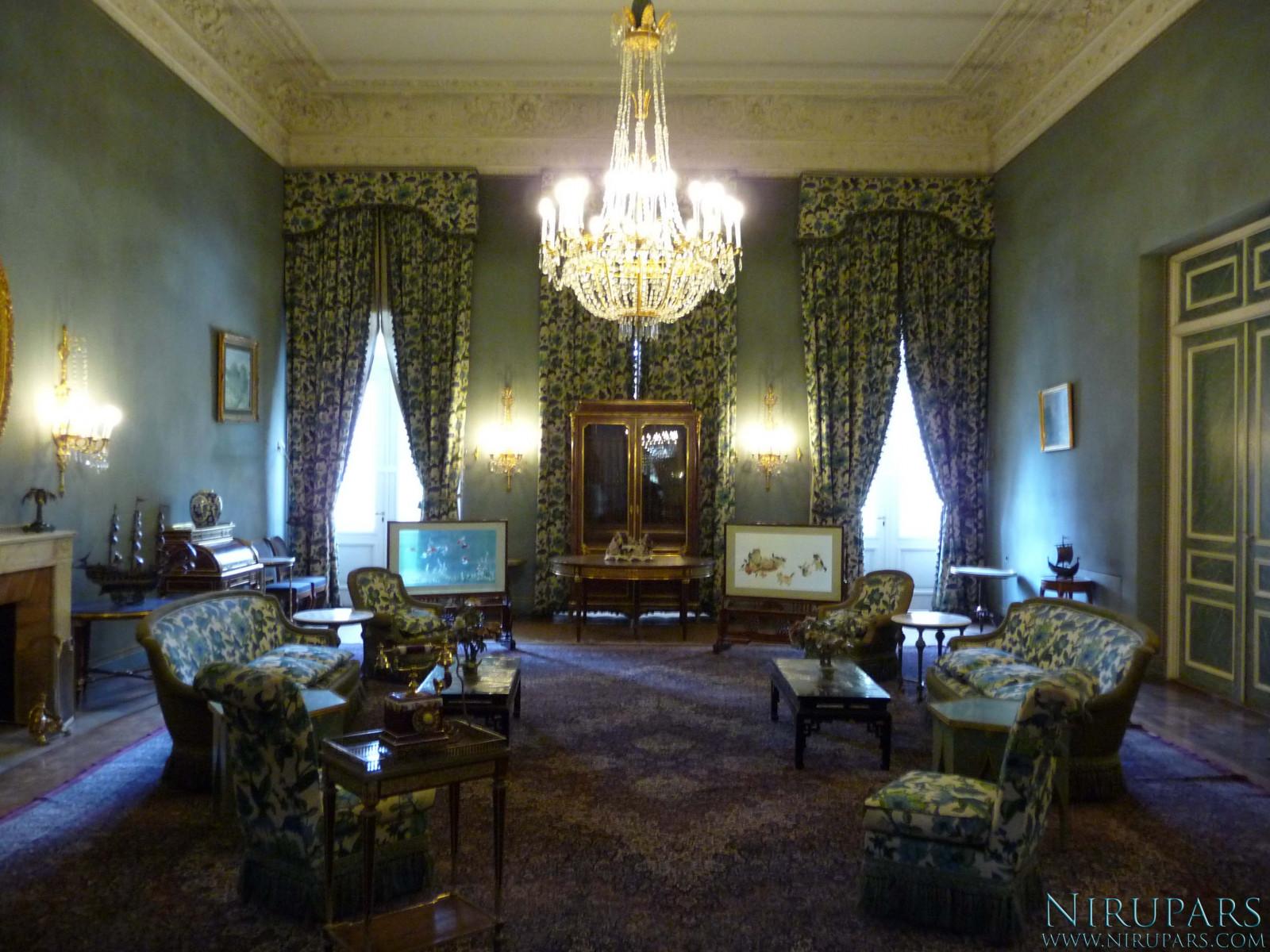 Sadabad Palace Complex - White Palace - Upper Floor - Living Room