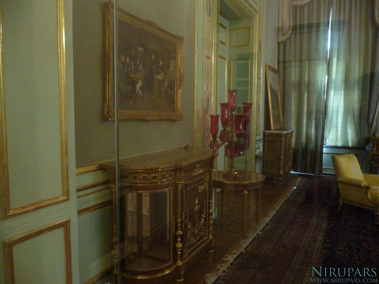 Sadabad Palace Complex - White Palace - Upper Floor - Music Room