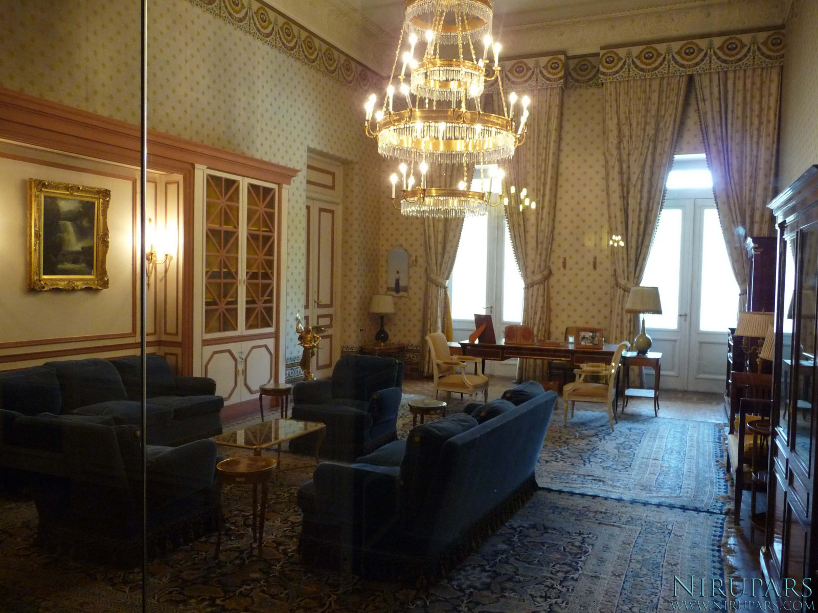 Sadabad Palace Complex - White Palace - Upper Floor - Royal Office Queen