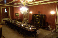 Sadabad Palace Complex - Green Palace - Basement - Dining Room