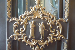 Sadabad Palace Complex - Green Palace - Door Relief