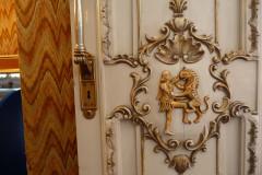 Sadabad Palace Complex - Green Palace - Door Relief