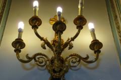 Sadabad Palace Complex - Green Palace - Wall Lamp