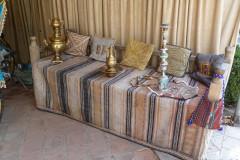Sadabad Palace Complex - White Palace - Old Bench
