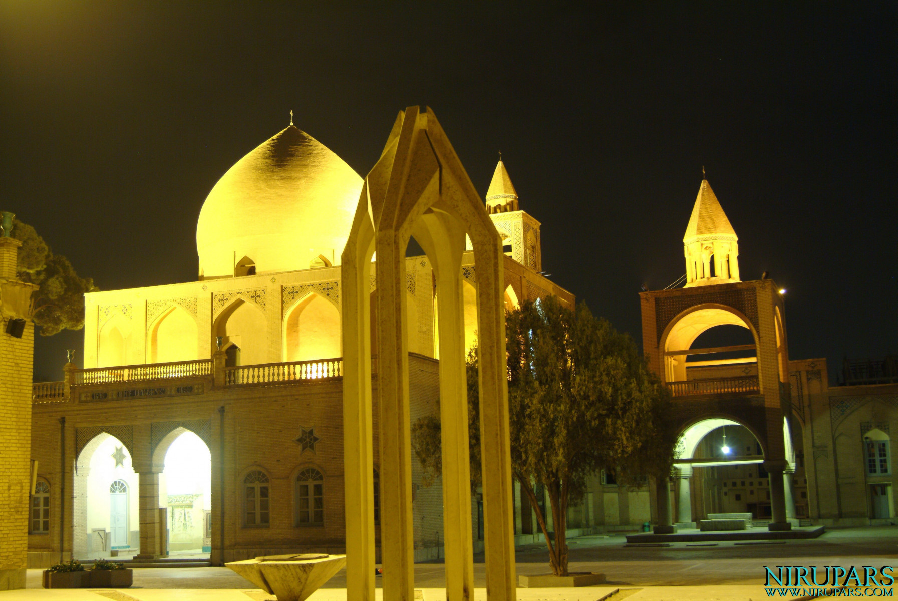 Vank Cathedral - Night